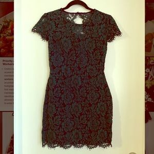 Banana Republic Lace Dress- Dark Green